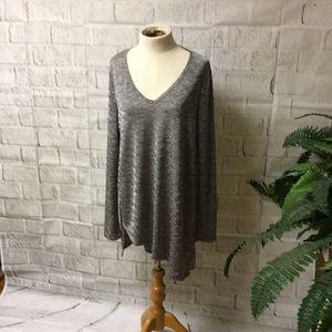 Simply Vera Verawang gray tunic